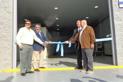 Se inauguraron obras del proyecto de 33 kV