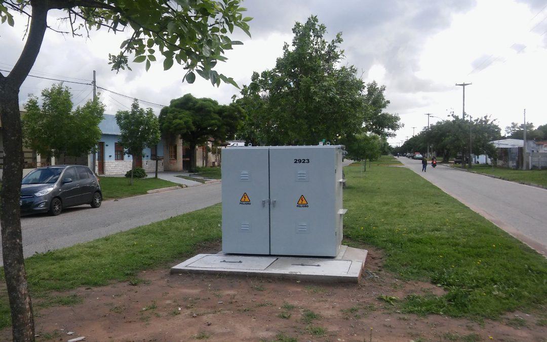 Avanzan obras eléctricas en la ciudad y en el campo