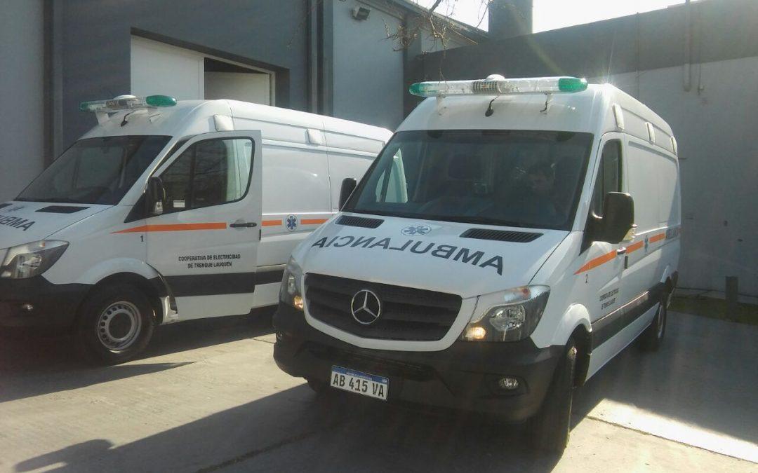 Se presentará a la nueva ambulancia